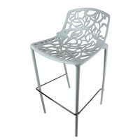Bar Stool WH P coated