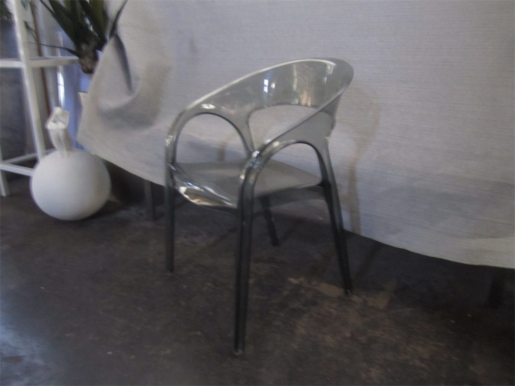 Chair T/parent Smoke Moulded Plastic