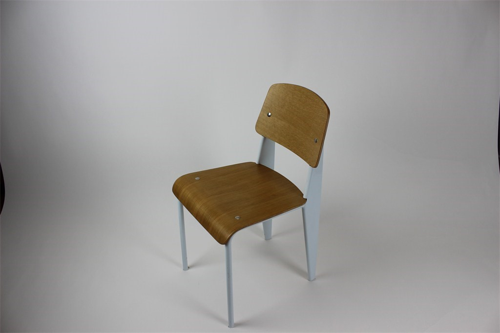 Chair Steel /Timber Veneer